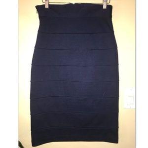 BB Dakota Nice Navy Blue Skirt (Size 8)